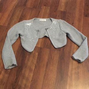 Sparkly H&M Cropped Cardigan